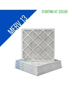 Merv 13 Filters with Price of starting at $20.89