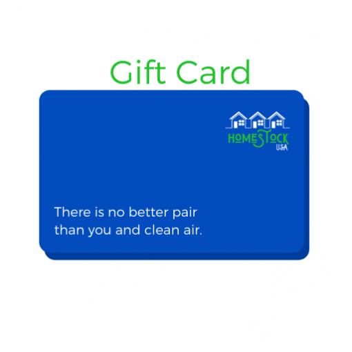 Homestock USA Gift Card Graphic